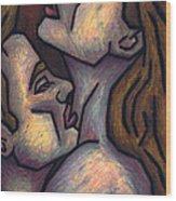 Passion Wood Print by Kamil Swiatek