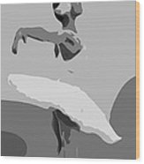 Passion Of Dance Wood Print
