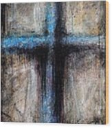 Passion Of The Cross Wood Print