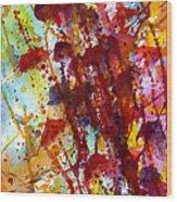 Passion Rising Wood Print