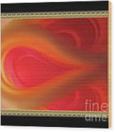 Passion Tunnel. Greeting Card Wood Print