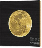 Passover Full Moon Wood Print by Al Powell Photography USA