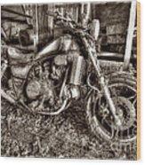 Past Glory Days Wood Print