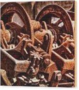 Past Its Prime Wood Print