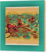 Pastel 5 Wood Print