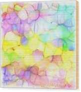 Pastel Abstract Patterns IIi Wood Print