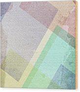Pastel Abstract Wood Print