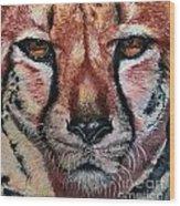 Pastel Cheetah Wood Print