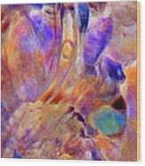 Pastel Dreamer Wood Print