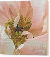 Pastel Floral Wood Print