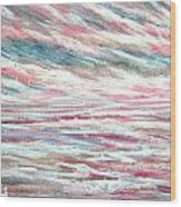 Pastel Mixture Wood Print by Janet Moss
