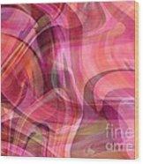 Pastel Power- Abstract Art Wood Print