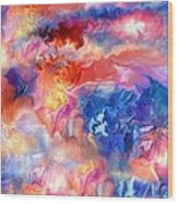 Pastel Storm By Spano  Wood Print