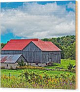 Pastoral Ontario 2 Wood Print