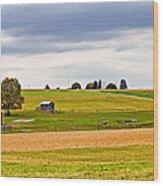 Pastoral Pennsylvania Wood Print