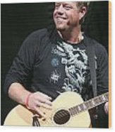 Pat Green  Wood Print
