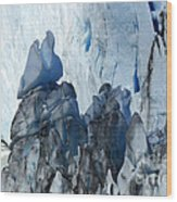Patagonia Glaciar Perito Moreno 3 Wood Print