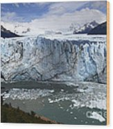 Patagonia Glaciar Perito Moreno 4 Wood Print