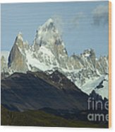 Patagonia Mount Fitz Roy 1 Wood Print