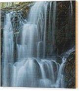 Patapsco Waterfall Wood Print