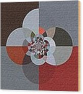 Patchwork Craze - Abstract - Triptych Wood Print