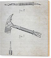 Patent - Fire Axe Wood Print