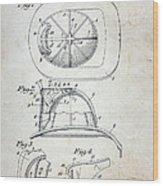 Patent - Fire Helmet Wood Print