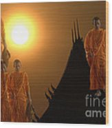 Path To Enlightenment Wood Print