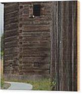 Path To The Gun Tower Wood Print