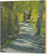 Path To The Point Wood Print