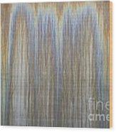 Patina On Cor-ten Steel Wood Print
