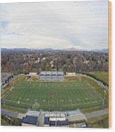 Patrick Henry Football Stadium Wood Print