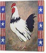 Patrick Patriotic Wood Print