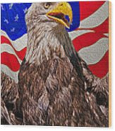 Patriot Wood Print