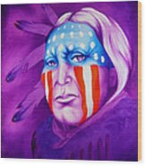 Patriot Wood Print