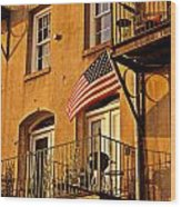 Patriotic Wood Print by Southern Photo