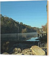 Patsiliga Creek Lake Wood Print