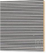 Pattern - Corrugated Metal Wood Print