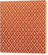 Pattern Of Cloth Wood Print