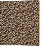 Patterns In The Sand Wood Print