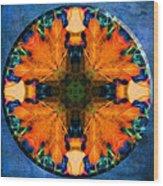 Patterns Of Autumn Wood Print