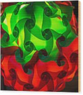 Patterns Of Light #1 Wood Print