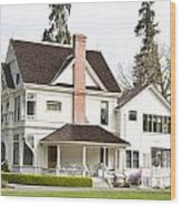 Patterson House Ardenwood Historic Farm Wood Print