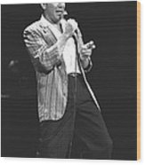 Paul Anka Wood Print