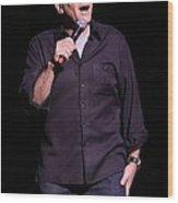 Comedian Paul Resier Wood Print