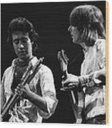 Paul And Mick In Spokane 1977 Wood Print