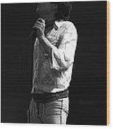 Paul Feeling The Good Vibes In Spokane 1977 Wood Print