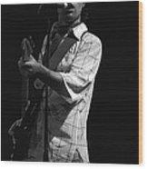 Paul Rocking In Spokane In 1977 Wood Print