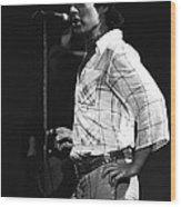 Paul Of Bad Company In 1977 Wood Print
