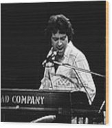 Bad Company Live In Spokane 1977 Wood Print